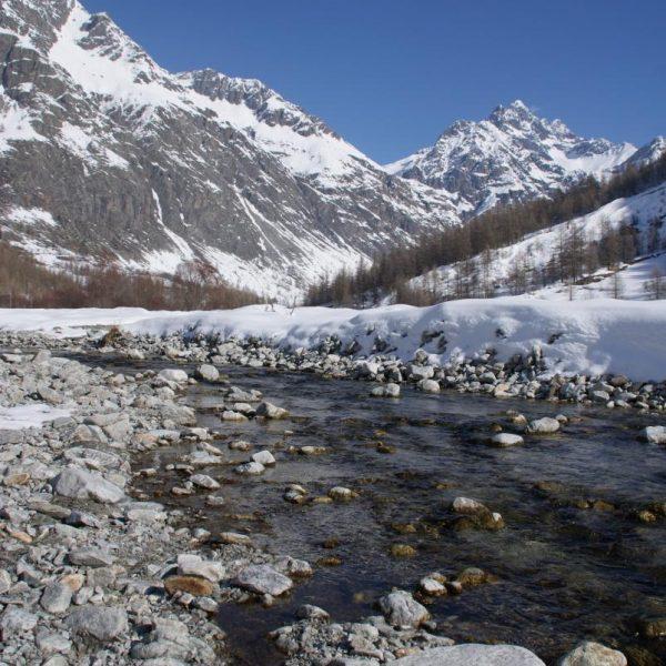 La rivière à 500m du gîte
