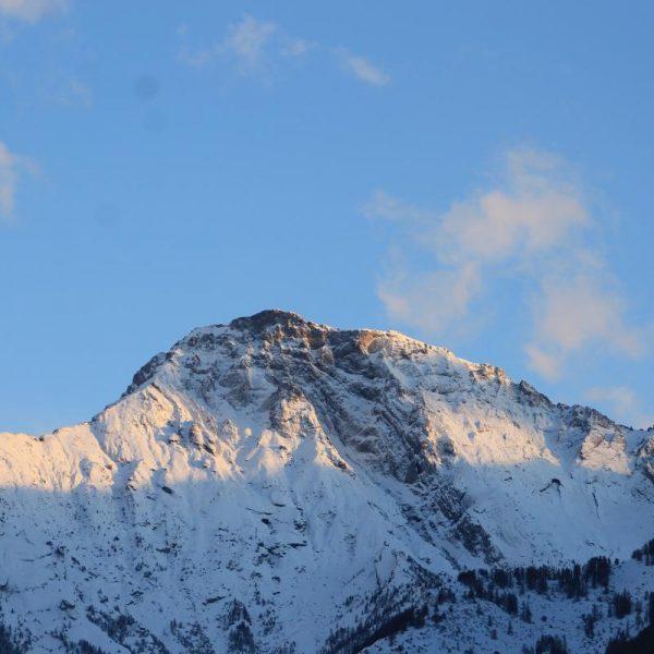 Une des montagnes vue depuis le gîte...