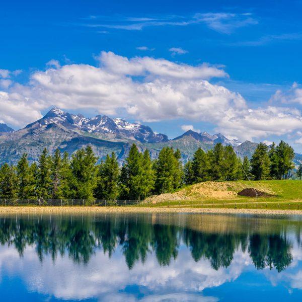 Lac d'altitude à Ancelle